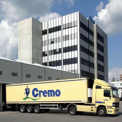 Thùng sữa tươi nguyên kem Cremo nhập khẩu Thụy Sỹ hộp 1 lít