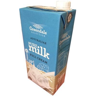 sữa tươi nguyên kem úc greendale hộp 1 lit