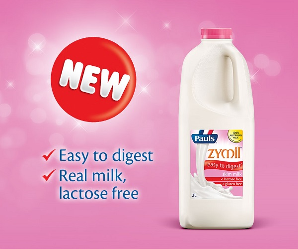 Thùng Sữa tươi Pauls Zymil ít béo không đường Lactose hộp 250ml