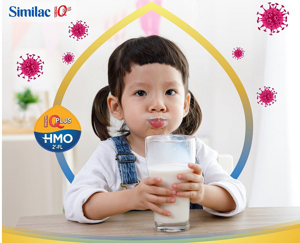 sữa similac iq 3 HMO cho trẻ 1 đến 2 tuổi lon 1.7kg