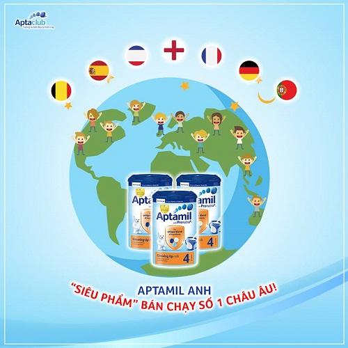 Sữa Aptakid nhập khẩu new zealand số 3 cho trẻ từ 2 tuổi