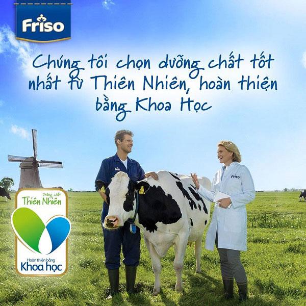 Sữa Frisolac Gold 3 lon 1,4kg cho trẻ 1-2 tuổi