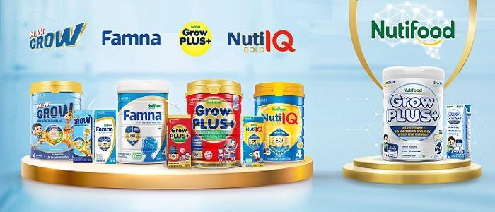 Sữa bột pha sẵn Nuti Grow Plus + trắng cho trẻ béo phì hộp 180ml
