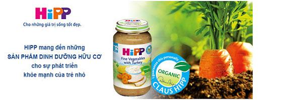 Bột ăn dặm Hipp bắp, hoa quả và sữa Corn with Fruits be tu 6 tháng