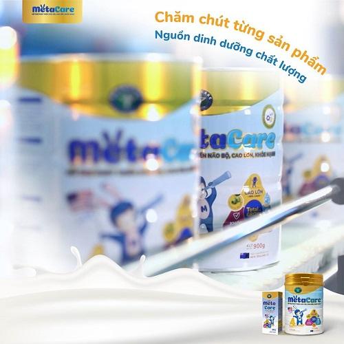 Sữa Metacare gold 0+ cho trẻ 0 đến 1 tuổi lon 800g