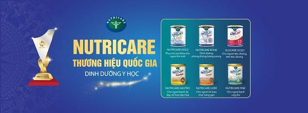 Sữa NutriCare Gold dinh dưỡng cho người lớn tuổi lon 900g