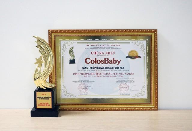 sữa colosbaby iq gold cho trẻ 1-2 tuổi, hộp 800g