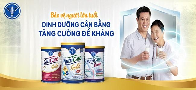 Sữa Nutricare Bone lon 900g dinh dưỡng giúp xương chắc khỏe
